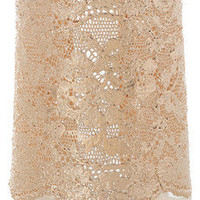 Aurélie Bidermann | 18-karat rose gold-dipped lace cuff | NET-A-PORTER.COM