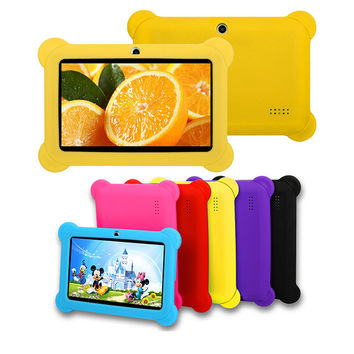 iNOVA Kids' Cortex-A9 8GB 7' Dual-Camera Tablet with Silicone Bumper Case & Accessories