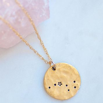 Big Dipper Star Necklace