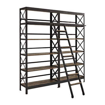 Chutes and Ladders Bookcase