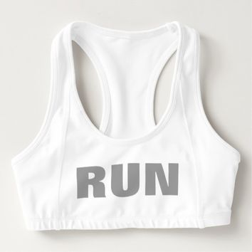 Run Women's Athletic Sports Bra