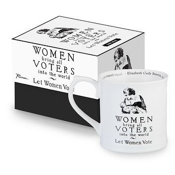 Women Bring All Voters Mug in Porcelain