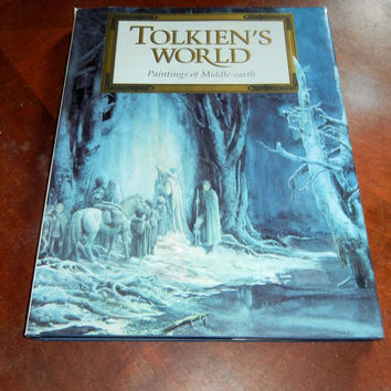 1992 Tolkien's World: Paintings of Middle Earth.  VF+. MJF Books (Harper Collins)