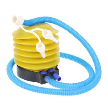 Portable Foot Air Pump Inflate Equipment Party Wedding Balloon Inflator 95cm Tube length Outdoor Bicycle Equipment