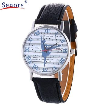 Watch relogio masculino Women  Watches Fashion Global Travel By Plane Map Denim Fabric Band Clock Hpur  7Colors  new design