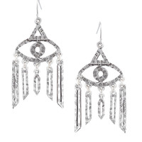 Low Luv by Erin Wasson Evil Eye Drop Earrings
