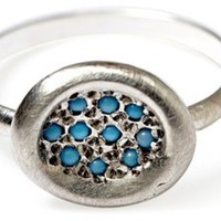 Pave Turquoise Ring, Stone & Novelty Rings