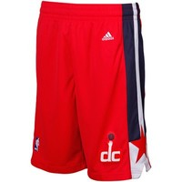 adidas Washington Wizards Red Swingman Shorts