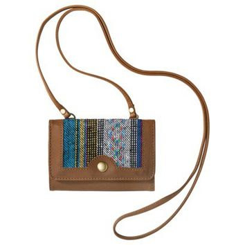 Mossimo Supply Co. Wallet with Pattern Print - Brown