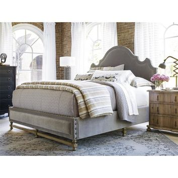 Newcastle Upholstered Panel Bed