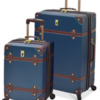 London Fog Retro Hardside Spinner Luggage | macys.com