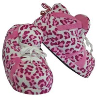 Comfy Feet Snooki's Pink Sequin Slippers