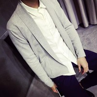 Men's Henry Collar Cardigan