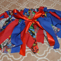 Superhero Rag Skirt! Customize a Rag Skirt today!