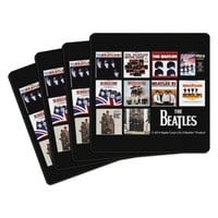 The Beatles U.S. Albums Coasters (Set of 4)
