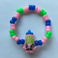 Shopkins Foodie Bracelet - Cornell Mustard - repurposed toys