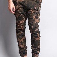 Men's Joggers With Side Hip Pockets JG899 - H8A