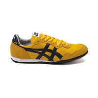 Mens Onitsuka Tiger Serrano Athletic Shoe, Yellow Navy | Journeys Shoes