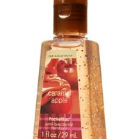 Bath and Body Works Anti-bacterial Pocketbac Sanitizing Hand Gel Caramel Apple
