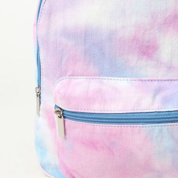 LA Hearts Canvas Tie Dye Backpack at PacSun.com