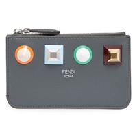 Fendi Large Studded Leather Key Pouch | Nordstrom