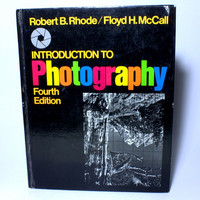 Vintage Photography Book  Introduction to Photography 4rd edition by Robert B Rhode