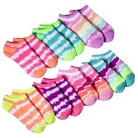 Xhilaration® Girls' 7-Pack Printed Sock - Assorted