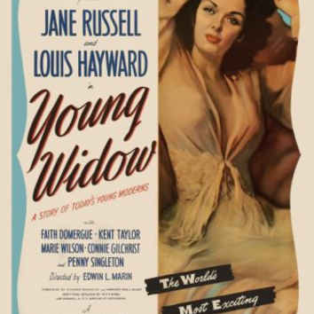 Young Widow Movie poster 24inx36in Poster 24x36