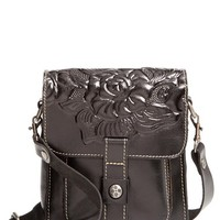 Patricia Nash 'Lari' Tooled Leather Crossbody Bag