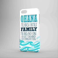 Ohana Means Family Lilo And Stitch iPhone Case Galaxy Case 3D Case