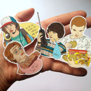 Stickers // Stranger Things