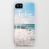 Take Me There... iPhone Case by Lisa Argyropoulos | Society6