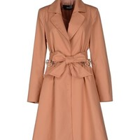 Love moschino Women - Coats & jackets - Full-length jacket Love moschino on YOOX