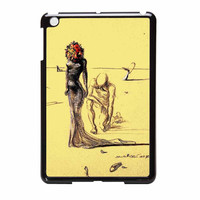 Salvador Dali Woman With Flower Head iPad Mini Case