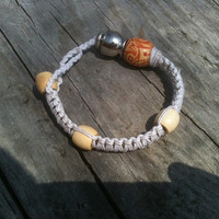 White Pipe Bracelet for smoking