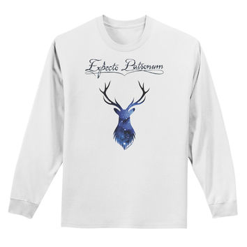 Expecto Patronum Space Stag Adult Long Sleeve Shirt