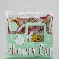 Sugar Skull Shower Cap - Urban Outfitters
