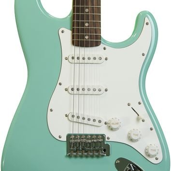 Squier Affinity Series Stratocaster - Surf Green with Rosewood Fingerboard