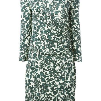 DCCKIN3 Tory Burch v-neck floral print dress
