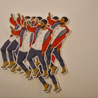 Drake Hotline Bling Stickers - Red Jacket