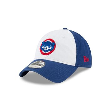 Chicago Cubs 1984 Logo White Panel Core Classic Adjustable Hat By New Era