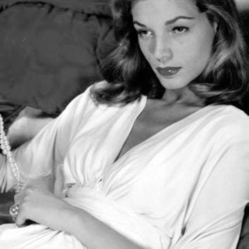 """Lauren Bacall Poster Black and White Mini Poster 11""""x17"""""""