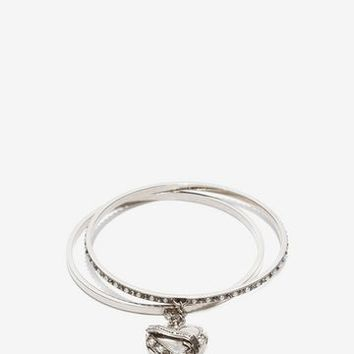 Heart Locket Double Bracelet | Alexander McQueen