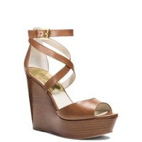 Gabriela Leather Wedge | Michael Kors