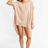 Silence + Noise Seamed Oversized High/Low Tee-
