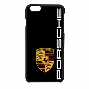 Porsche Logo BLACK iPhone 6 Case