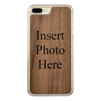 Create Your Own Template Carved iPhone 7 Plus Case