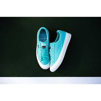 AA QIYIF Puma Clyde x Diamond Supply Co. - Diamond Blue