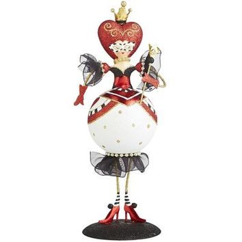 Glitter Mini Queen of Hearts