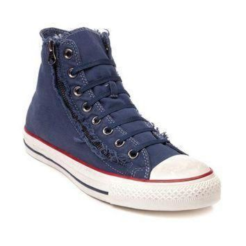 ICIKGQ8 converse all star hi washed zip sneaker